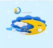 Simple Ceiling lamp Cartoon children's room lamp creative LED ceiling lamp bedroom cosy rooms for boys and girls eye moon and the stars Best Value