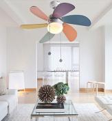 HAIZHEN Pendant Light Children ceiling fan light fan light minimalist LED Ceiling Fan Light Contemporary