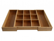 Axis Bamboo Expandable Odds N Ends Drawer Organiser