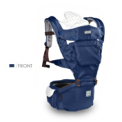 SONARIN Four Seasons Ergonomic Hipseat Baby Carrier,Oxford Cloth, 6 Carrying Positions, Breathable mesh backing,Free Size, Easy to Carry and Easy Mom, Safe and Comfortable,Adapted to Your Child's Growing, 100% Infinity Guarantee,Ideal Gift