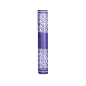 High-end Scroll Holder Seal Damp-proof Collection Drawing Tube Paper Tube 50cm, Blue Flowers