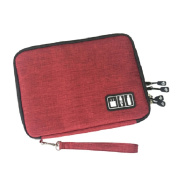 OUNONA Electronics Accessories Organiser for Digital Data Cable USB Travel Storage Bag