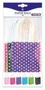 Playbox - Paper Bags, Dotted 150 x 100 mm, 6 Pcs, Multi