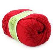 Baby Yarn Skein Worsted Natural Silk Wool Fibre 50G Woollen Smooth Knitting Super Soft