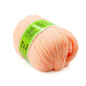 Baby Yarn Skein Worsted Natural Silk Wool Fibre 50G Lot Smooth Knitting Super Soft