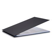 Pina Zangaro Bex 11x17 Landscape Screwpost Binder, Black, Includes 20 Pro-Archive Sheet Protectors