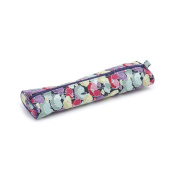 S & W Collection MR4692284 | Oval Knitting Pin Case | Spring Flowers Pattern
