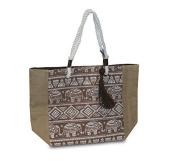 Bag Mosaic Brown