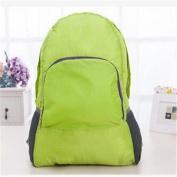 GUJJ Travel to admit dual shoulder bags foldable new unisex dual shoulder bag, Green