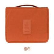 GUJJ Travel organise BAG hanging vanity Packages Utility portable, Orange