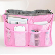 GUJJ Hand-BAG L thick with pouch, Pink