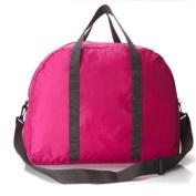 GUJJ Multifunction foldable single shoulder bags travel bag, the red