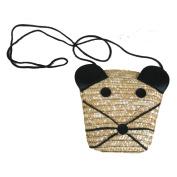 Straw Bag Knitted Handmade Boho Shoulder Handbag Bag