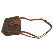 Straw Bag.Shoulder Messenger Bag Leisure Small Square Bag , A
