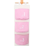 Cdet Storage Bag Cute Hanging Storage Pocket Cosmetic Bag Travel Pouch Home Supplies Pink