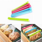 VALINK 6Pcs Kitchen Craft Bag Clips Seal Clip Food Package Sealer Clamp Sealed Packaging Clip Snack Sealing Bag Clips