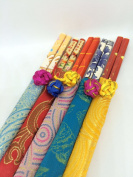 Chinese Chopsticks in Embroidered Case