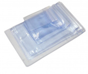 100 Pcs Transparen OPP Jewellery Bags Resealable Zip Lock Storage Bag Grip Seal Package Bag For Necklace Bracelet Rings Earrings