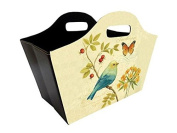 Foldable Tidy Bag - Blue Bird and Butterfly Design