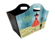 Foldable Tidy Bag - Red Dress Design