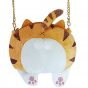 Shoulder Bags WINWINTOM Cute Cat Butt Tail Plush Handbag Crossbody Shoulder Bags Purse
