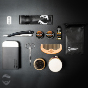 Essential XXL Grooming Kit - CHOOSE SCENT Beard Balm, Wax, Oil, Comb and Tin 6A