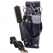 Professional Hair Scissors Comb Hairdressing Pu Leather Tool Pouch Holder Bag Message Bag