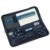 Professional Salon Hairdressing Hair Cutting Combination Set Hairdressing Scissors Tool Kit Colour Random