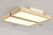 Home mall- LED Wood Ceiling Lamp Modern Stylish Living Room Bedroom Kitchen Corridor Children Room Decoration Light