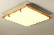 Home mall- LED Wood Ceiling Lamp Modern Stylish Living Room Bedroom Kitchen Corridor Children Room Decoration Lamp