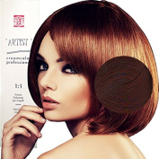 Plain For Professional Hair Colour Red Mahogany with Ammonia 5 X 5 X 15 4/48 MOGANO VIOLETTO