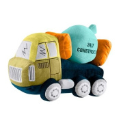 Kas Australia Kids.- Shape Cushion pillow Mixer Truck 38 x 20 x 12 cm