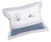 Be Be's Collection 267 40 Cuddle Cushion Oskar Blue 30 x 40 cm
