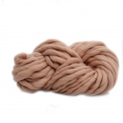 Anti-pilling Thick Acrylic Yarn Soft Scarf Knitting Wool Hand-knitted Work Wool-Camel Colour