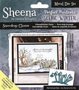 Sheena Douglass Snowdrop Cluster Perfect Partners Metal Die, Silver