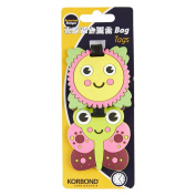 Korbond In The Garden Bag Tags, Plastic, Multi-Colour