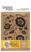 Leonie Pujol Photopolymer Stamps Floral Tapestry, Clear, A6
