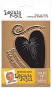 Leonie Pujol Photopolymer Folk Art Fun Entwined Stamp, Clear, A6