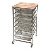 Tim Holtz Idea-ology Signature Design Industrial Storage Cart, 90cm x 40cm x 40cm