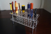 Magic Show Acrylic Shelf Tool Kit Stand For leather tool, handmade, Screw Driver TO178