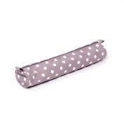 Hobbygift Value Soft Knitting Pin Case, Cotton Blend, Mauve Spot