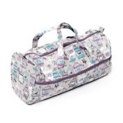 HobbyGift MR4698/123 | Value Knitting Bag Mauve Birdcage