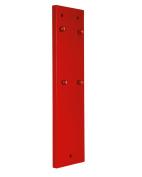 Boj Olaneta Backing for Traditional Wall-Mounted Corkscrew, Wood, Red, 34.29 x 8.89 x 30 cm