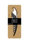 Boj Olaneta Kea Waiter's Corkscrew, Stainless Steel, Black, 30 x 30 x 30 cm