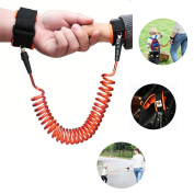 aliyao anti-enfant Lost with Leaves ehors Bracelet Power Baby Security Anti-Lost Rope for Baby Walk Learning Belt Travel Must Go 1.5 m