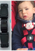 BUGGY BUDDY MONKEY CHEST CLIP SAFETY STRAP , STOP ARMS ESCAPING HARNESS