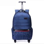 Waterproof Multifunction Lightweight Backpacks Laptop Rucksack 4 Wheel 360°Rotate for Business/Travel/Luggage / Suitcase Daypack