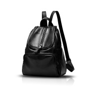 Tisdaini Women's shoulder bag fashion designer patent backpack casual PU soft leather travel student Lady bags