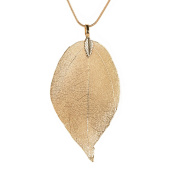 Charm Long Leaf Pendant Sweater Chain Necklace Jewellery