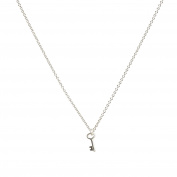 Dogeared Women Silver Necklace of Length 45.72cm MS1592-IN